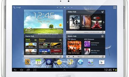 DDALI1 — Official Android 4.1 Jelly Bean Update for Samsung Galaxy Note 10.1 [Leak]