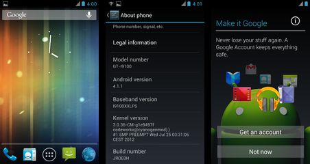 Update Galaxy S2 to Android 4.1 With Latest Jelly Bean JRO03H AOSP ROM