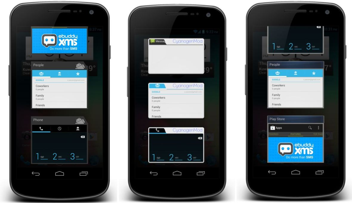 ... Ace CyanogenMod 7.2 ROM With Galaxy S3 TouchWiz 5 Theme [Android 2.3