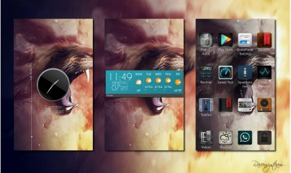 Like Android Homescreen Customization? Check Out SSLauncher!