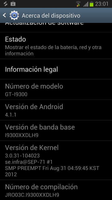XXDLH9: Another Official Android 4.1 Firmware for Galaxy S3 Leaks