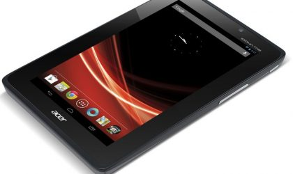 Acer Iconia Tab A110 Specs confirmed officially. Release date and price unavailable right now.