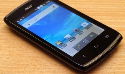 Acer Z110 dual SIM Android phone leaked, runs on Android 4.0