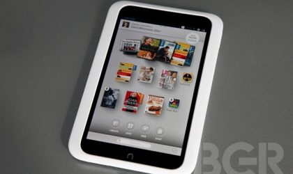 Nook HD Specs — 7-inch 900p 243 PPI display, 1.3 GHz dual-core processor, 1 GB RAM!