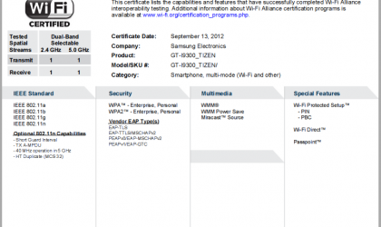 Err.. Samsung planning a Galaxy S3 (GT-I9300) variant with Tizen OS? Not Android?