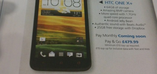 HTC One X+ Price and Specs