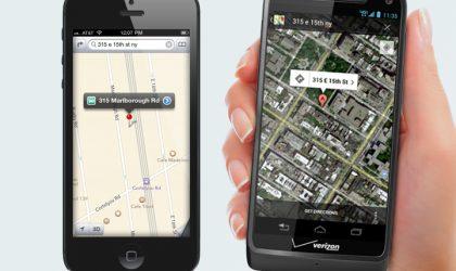Motorola makes fun of poor Apple Maps app
