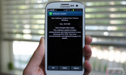 Verizon Galaxy S3 Update to fix No Sim error released
