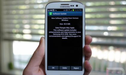 Verizon Galaxy S3 Update to fix No Sim error released