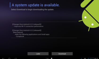 Xperia Tablet S Update rolling out, improves WiFi connectivity performance