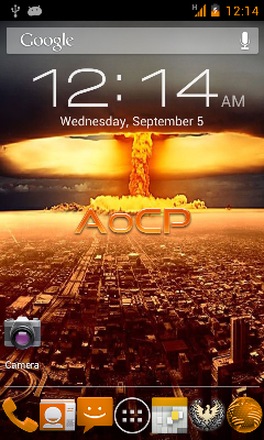Android 4.1 for Samsung Captivate: AoCP Jelly Bean ROM