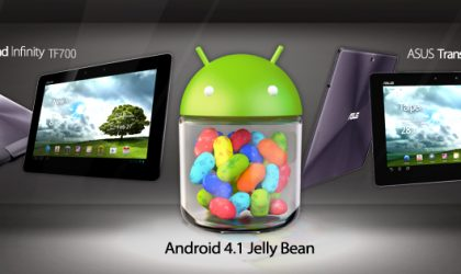 ASUS Jelly Bean Update Changelogs for TF201/TF700