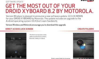 DROID XYBOARD 8.2 Android 4.0 update approved by Verizon, coming soon!