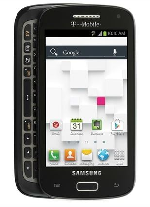 Samsung and T-Mobile Announce Galaxy S Relay 4G, Has a QWERTY Keyboard