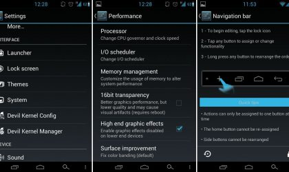 HellyBean for Samsung Vibrant: Get Android 4.1 With On Screen Buttons and Custom Navigation Bar