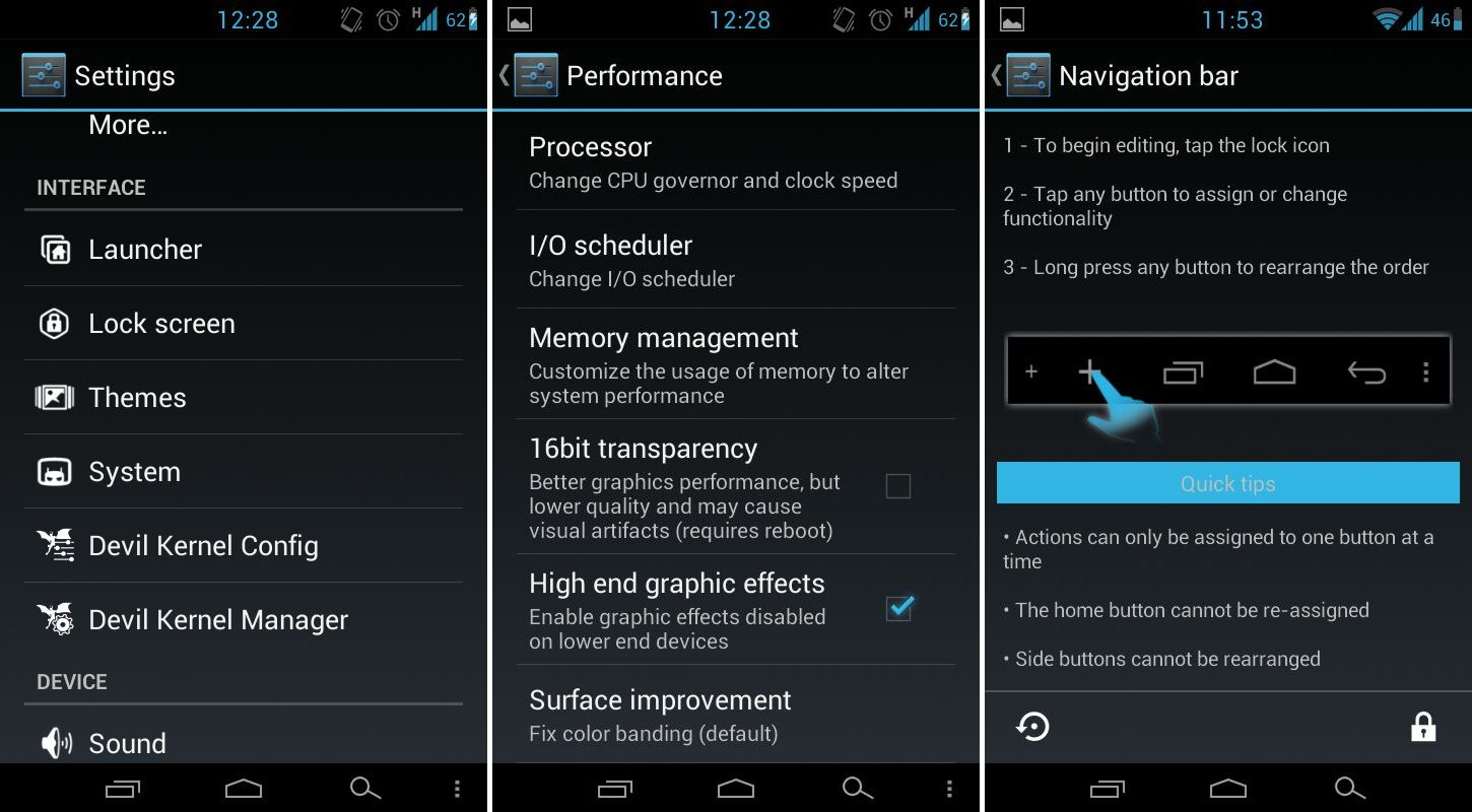 HellyBean For Samsung Vibrant: Get Android 4.1 With On
