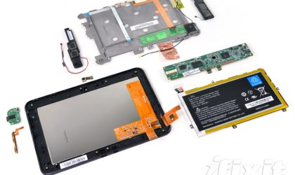 Kindle Fire HD 7 torn down, shows it's easily repairable