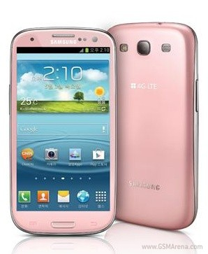 Pink Galaxy S3 Spotted. Launching in Korea, where else!
