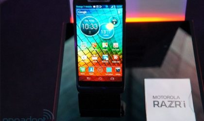 Motorola RAZR i Specs. Intel unleashes its 2GHz Medfield Processor
