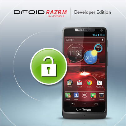 Factory unlocked Motorola Droid RAZR M developer edition now available for purchase