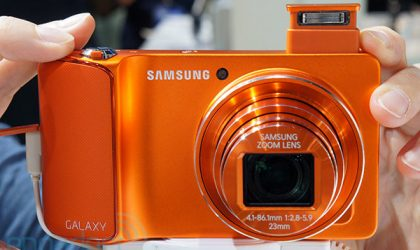 Samsung Galaxy Camera in Pink and Outrageous Orange Colors Unveiled