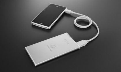 Sony External Batteries are slim and cool looking — everything one would hope for!
