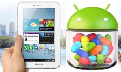 Official Android 4.1 Jelly Bean Update for Samsung Galaxy Note 10.1 and Samsung Tab 2 7.0 Leaked