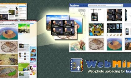 Upload photos to Facebook quickly from anywhere on web with an Android App