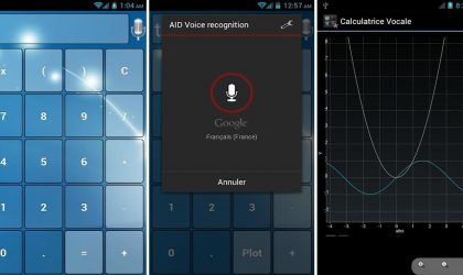 Vocal Scientific Calculator for Android, with support for voice, themes, widget, text-to-speech and currency converter!