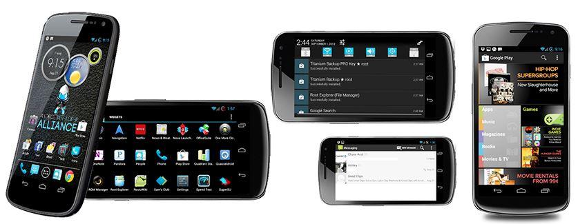 New Verizon Galaxy Nexus Android 4.1 ROM: Affinity. New ...