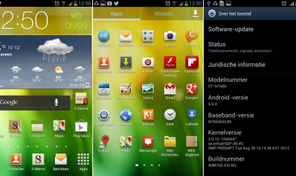 XXLRQ – Official Android 4.0.4 Update for Galaxy Note. Adds New Launcher, S-Cloud and More