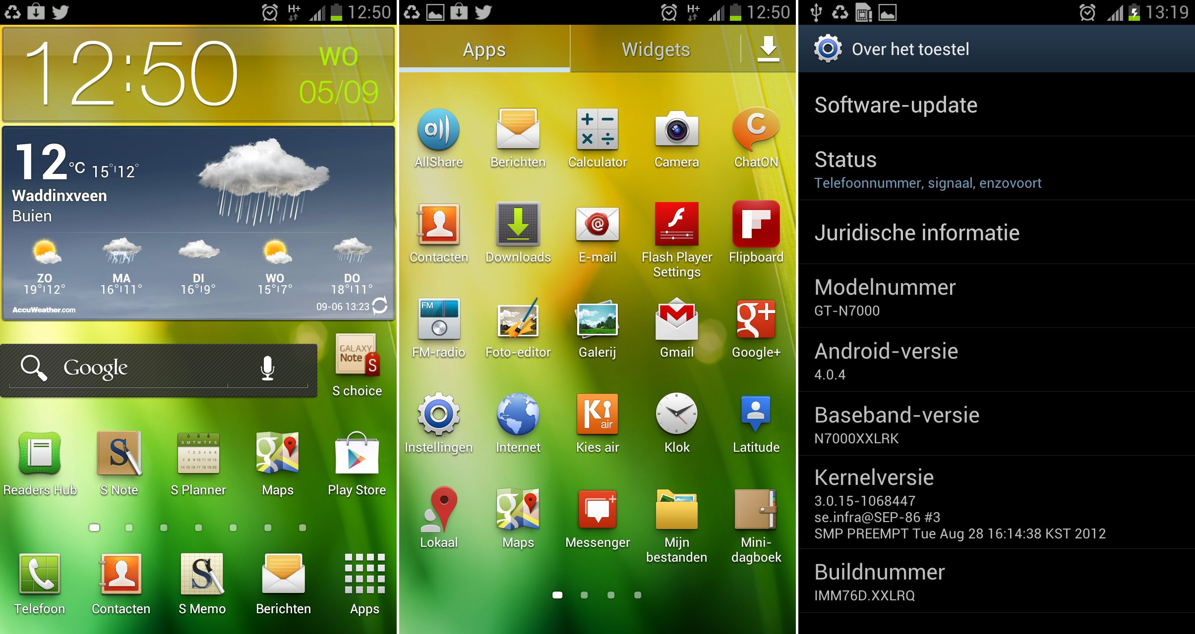 XXLRQ – Official Android 4.0.4 Update for Galaxy Note ...