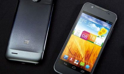 ZTE Grand Era U985 Specifications: 4.5″ HD display and quad-core processor in 7.9mm body!