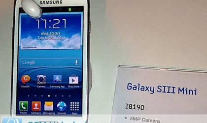 Samsung Galaxy S3 Mini official pics appear, confirms some specs too