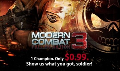 Modern Combat 3 Price dropped to just $1 on Google Play Store