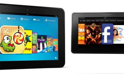 Europe gets Kindle Fire HD and new Kindle Fire for price of £159 and £129 respectively, ships today