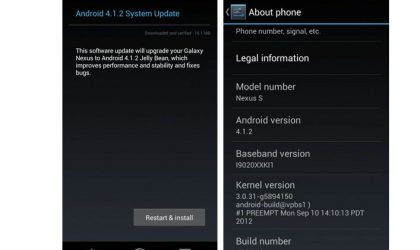 Android 4.1.2 OTA Update for Galaxy Nexus and Nexus rolling out now