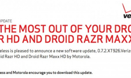 Security Update for Motorola Droid Razr HD and Maxx HD coming this week, might remove root!