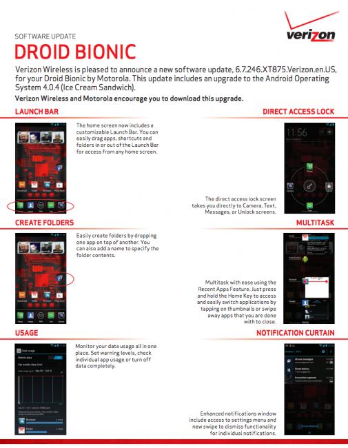 Droid Bionic ICS