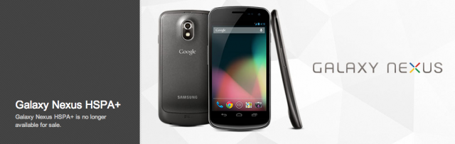 Google Play Store not selling the Galaxy Nexus anymore!