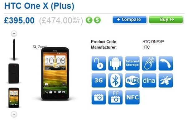 HTC One X  Price