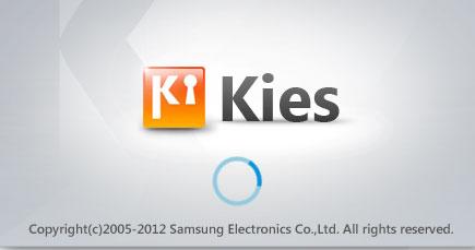 Samsung Kies updated to version 2.5