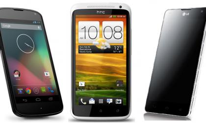 Nexus 4 vs One X vs Optimus G Comparison