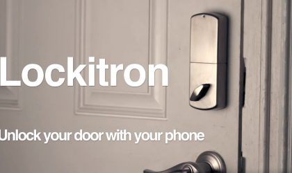 Lockitron Home Door security lets you manage doors using an app or web, and authorize other users and their time limits