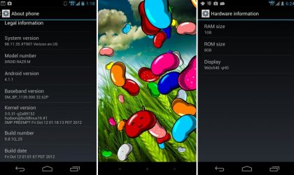 Update Motorola Razr M to Jelly Bean with leaked firmware [Guide]