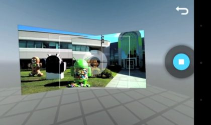 Video of Photo Sphere feature from Android 4.2