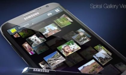 Samsung releases video showing Galaxy Note 2 features