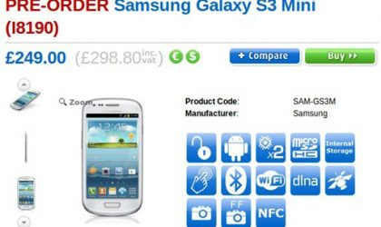 Samsung Galaxy S3 Mini and HTC One X+ delayed in UK