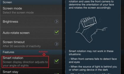 Samsung Galaxy S3 gets Smart Rotation, not a Galaxy Note 2 exclusive any more