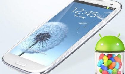 Sprint Galaxy S3 Jelly Bean Update release date is… today!